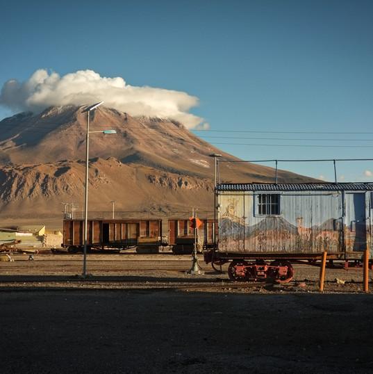 vulkán Ollague