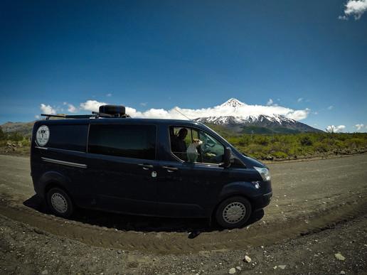 Vulkán Lanín