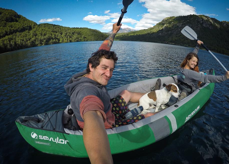 Kayak u Futaleufú