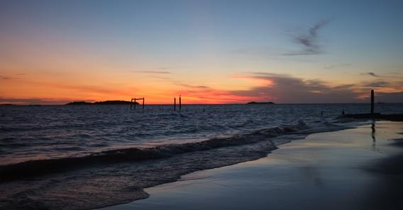 poslední západ v Uruguayi