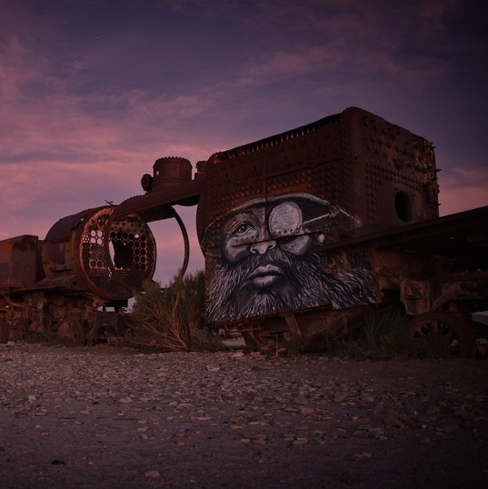 Graffitti vlak