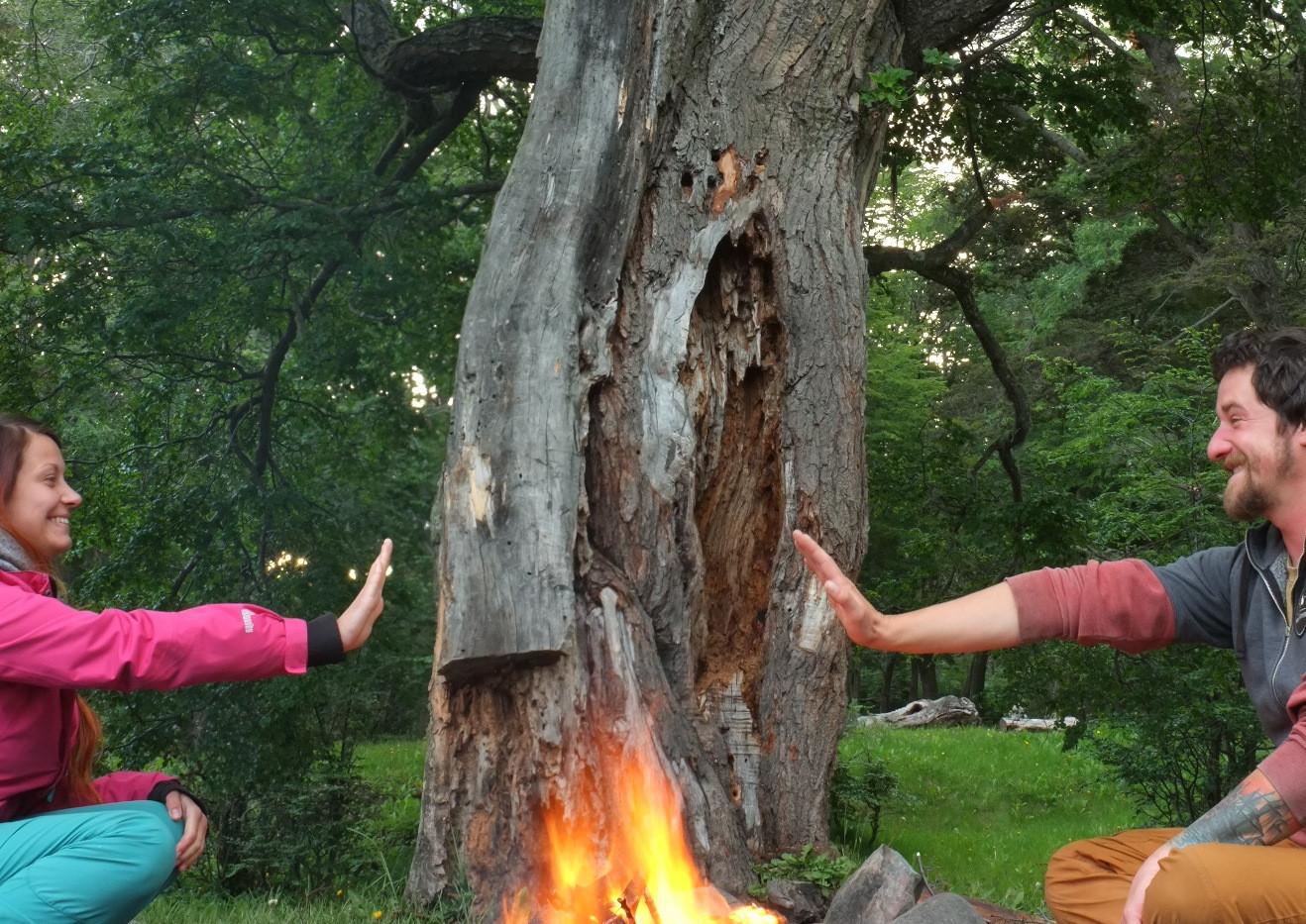 Uctíváme oheň v Ohňové Zemi