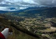 údolí pod Quilotoou