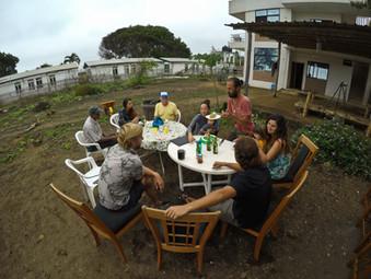 poslední párty v Puerto Cayo