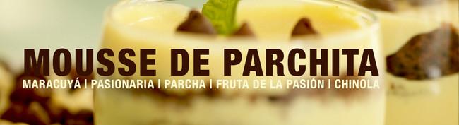 RECETA: Mousse de Parchita