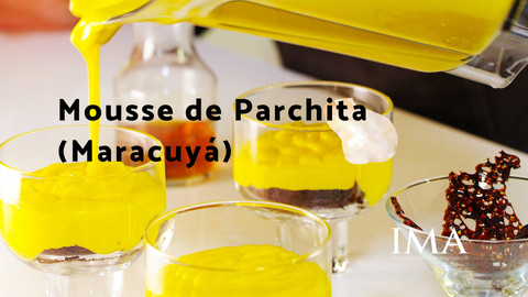 Mousse de Parchita (Maracuyá)