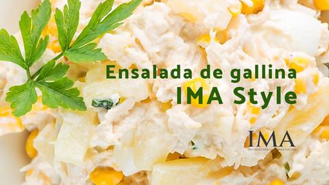 Ensalada de gallina IMA Style