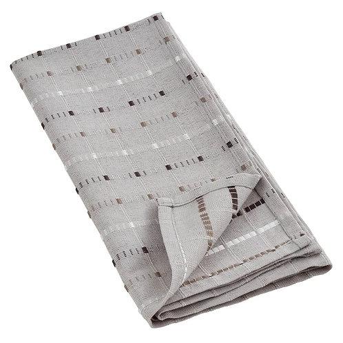 Simple Stitched Line Design Cotton Blend Napkins   Set of 4