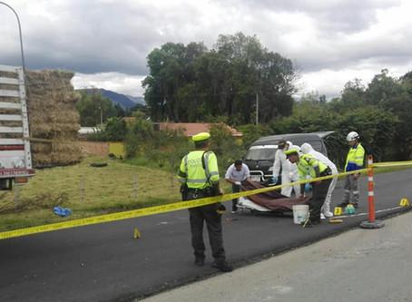 Joven ciclista murió al ser arrollada por un camión en Paipa