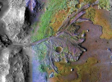 La NASA anuncia e lugar de aterrizaje de la expedición a Marte en 2020