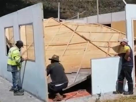 DESTRUYEN CABAÑAS EN EL NEVADO DE EL COCUY
