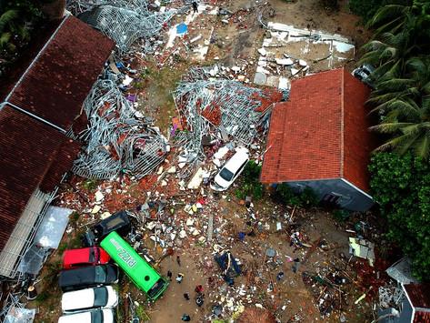 Tsunami volcánico en Indonesia