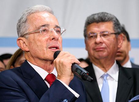 Corte ordena medida de aseguramiento contra Uribe