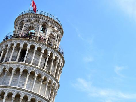 La torre inclinada de Pisa se endereza cada día más