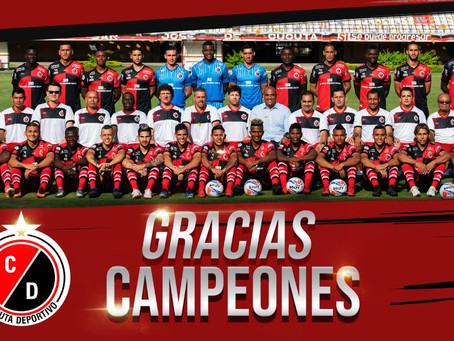 Cúcuta Campeón del Torneo Águila 2018