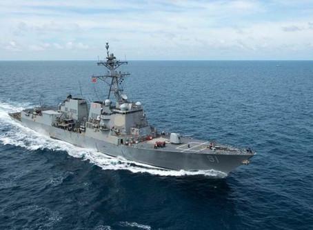 EE.UU. despliega un bloque militar frente a las costas de Venezuela