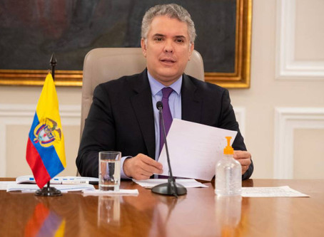 Estar permanente e indefinidamente aislados no es viable: Iván Duque
