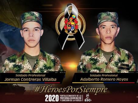 Dos soldados muertos en Tibú, tras ataque con explosivos