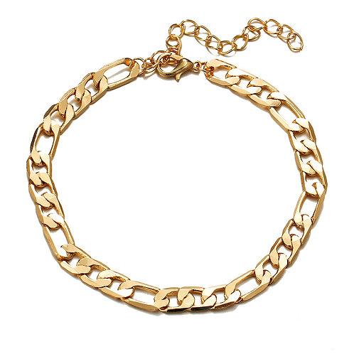 Gold Ankle Bracelet