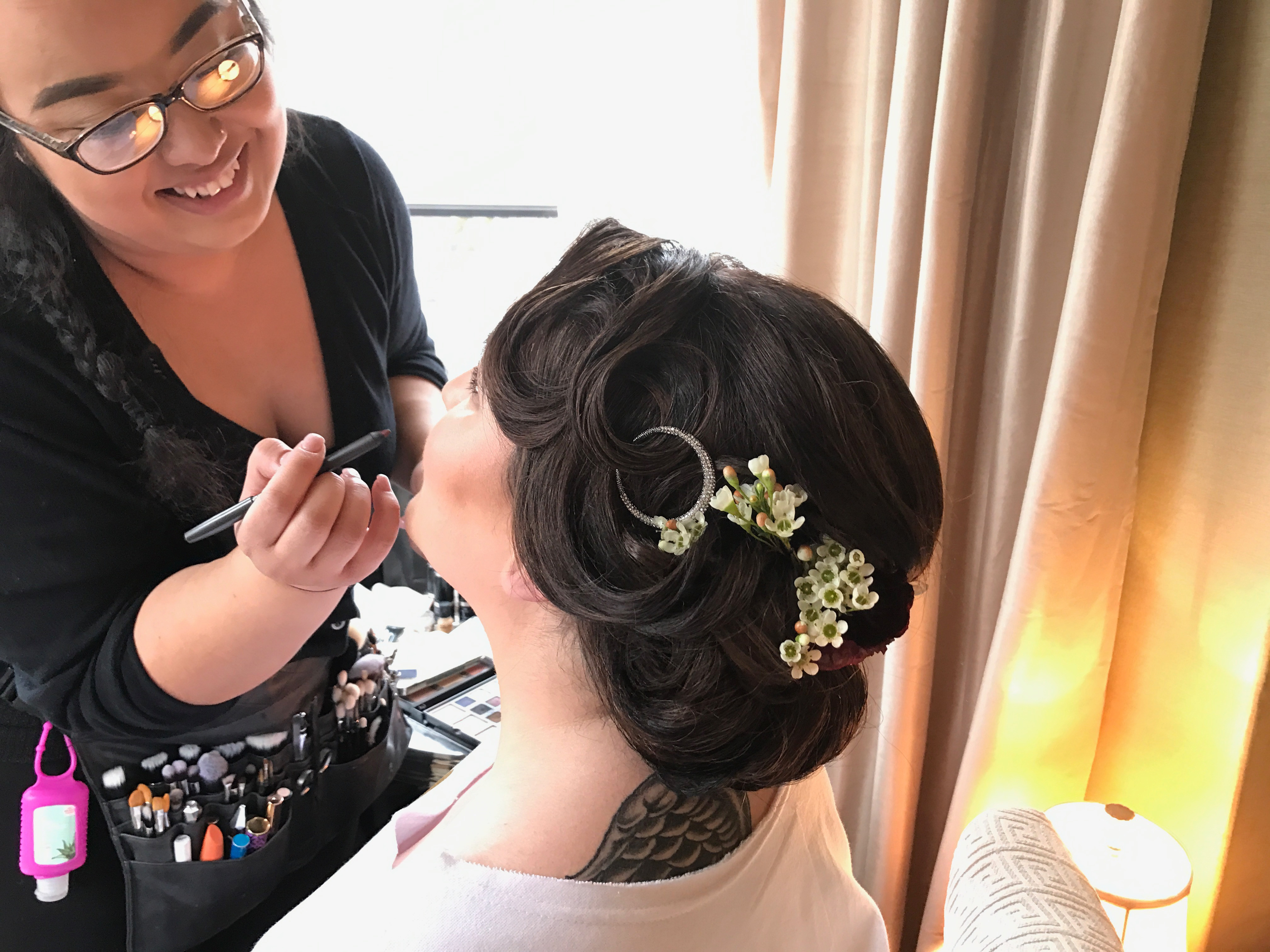 Hair and Makeup Trial