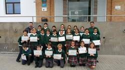 Premio a una clase de sexto