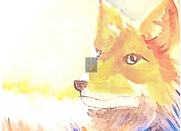 """8"""" by 10"""" Matted Watercolor Prints"""
