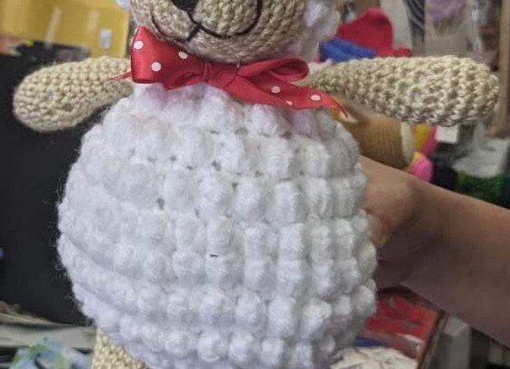Crochet Stuffed Sheep