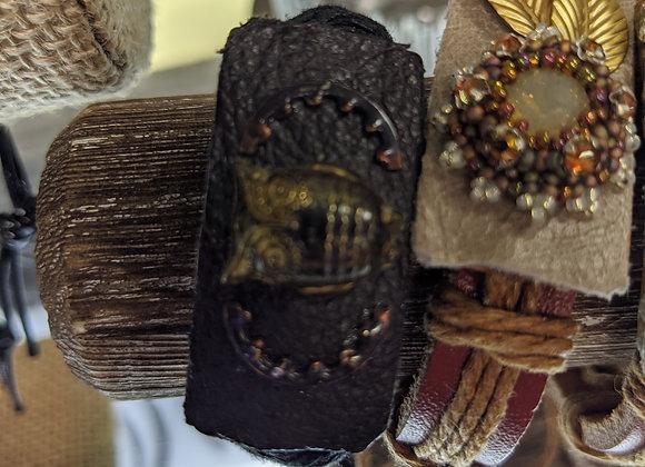 Leather Statement Bracelets