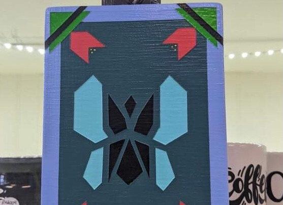 Butterfly Barn Quilt Wall Art