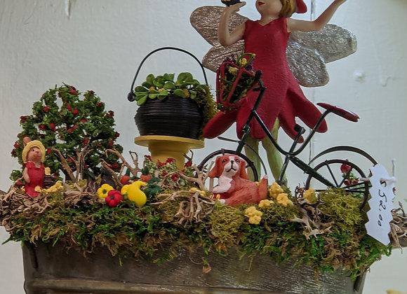 Home Decor - Fairy Garden Bucket