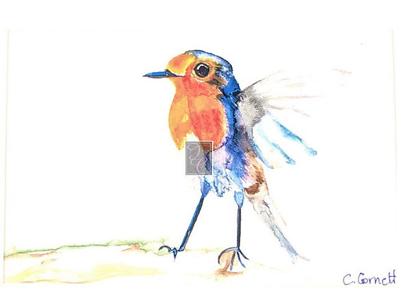 """5"""" by 7"""" Unmatted Watercolor Prints"""