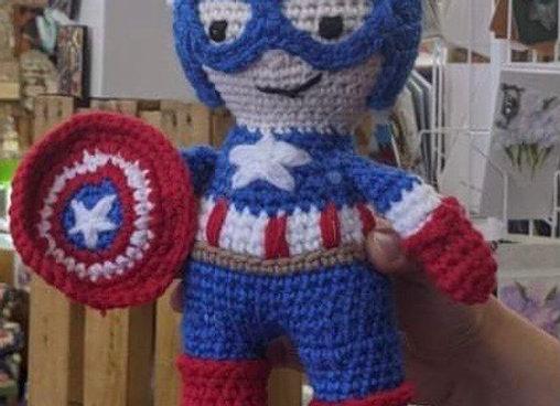 Superhero Crochet Dolls