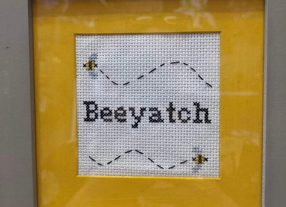 Beeyatch Cross Stitch
