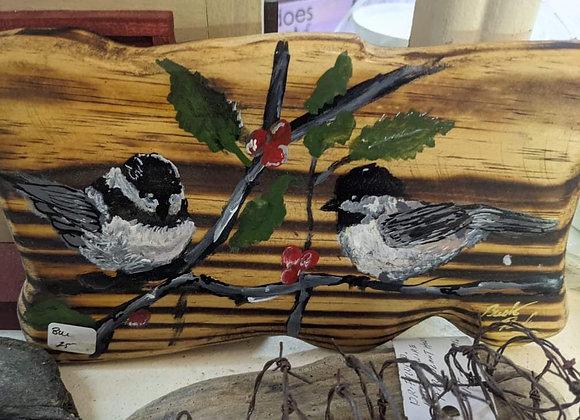 Bird Wood Plaques