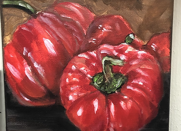 Bell Peppers Painting