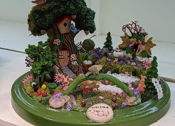 Home Decor - Welcome Fairy Garden