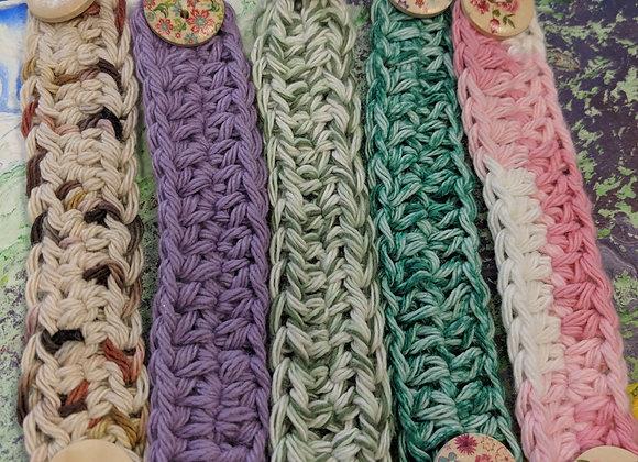 Crocheted Ear Savers for Masks