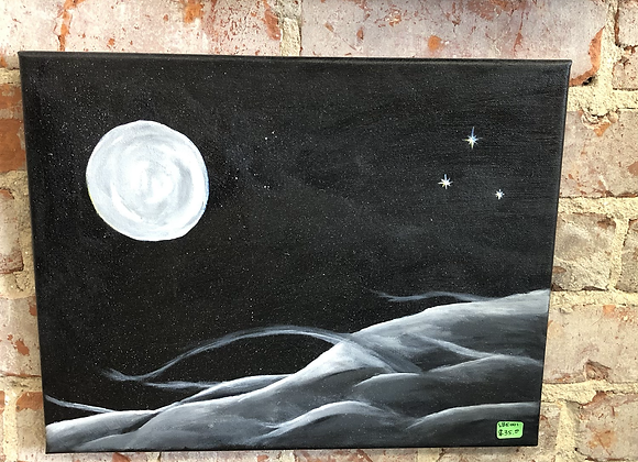 Moonscape Painting