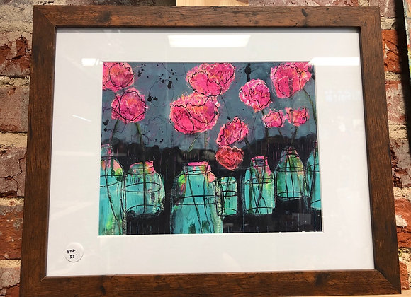 Blooms for Mom Framed Painting