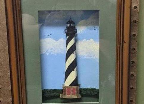 Lighthouse 3D Wall Art