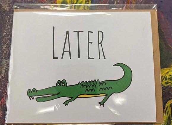 Animal Themed Pun Cards