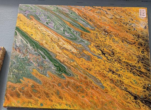 Fluid Art Paintings - 8in x 10in