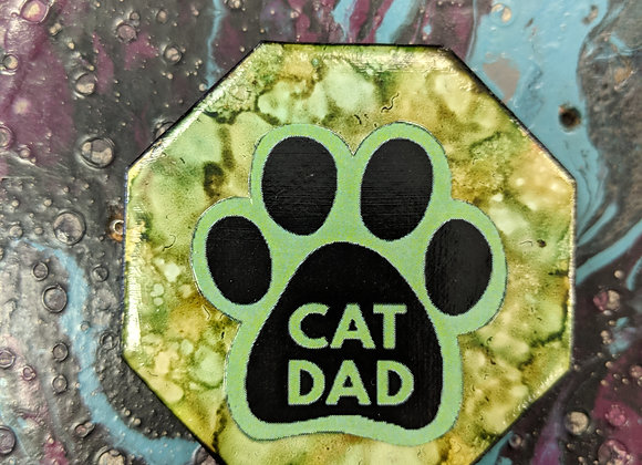 Home Decor - Pet Themed Alcohol Ink Magnets