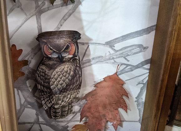 Owl 3D Wall Art