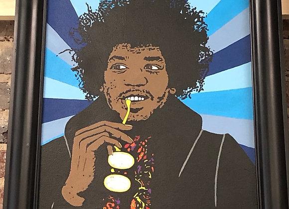 Jimi Framed Painting