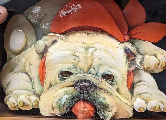 Bulldog 3D Wall Art