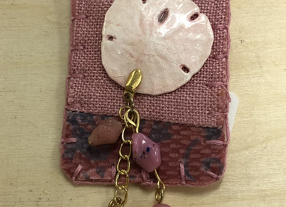 Beach Themed Fabric Pins
