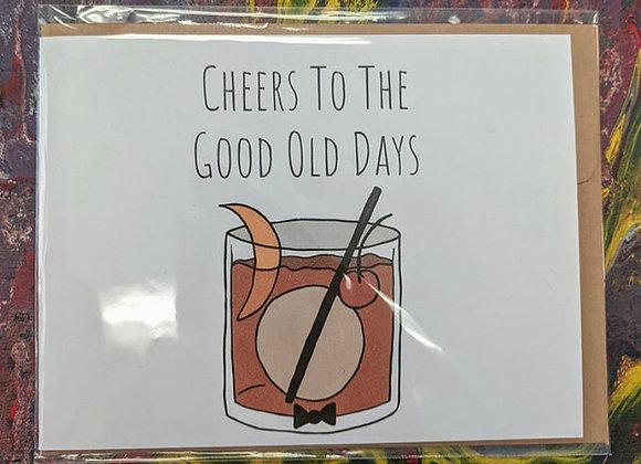 Alcohol Themed Pun Cards