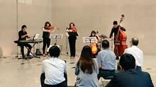 天王洲ランチタイムコンサートの様子