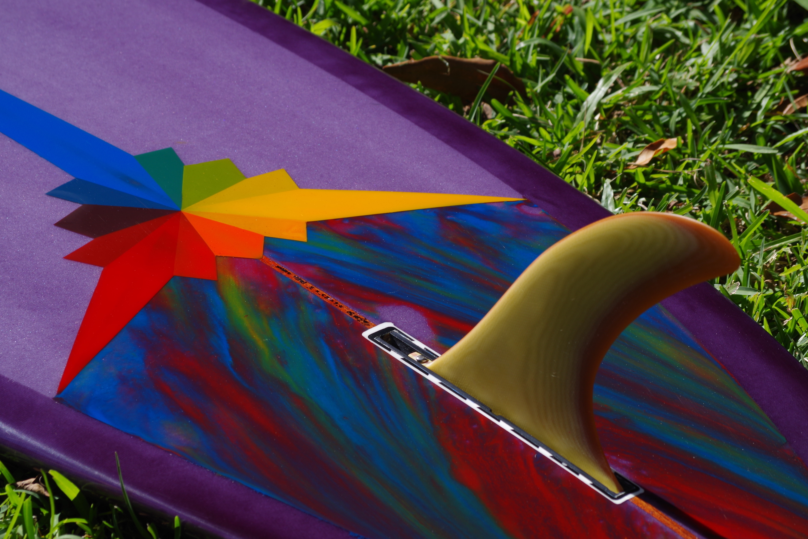 resin pannels and custom fin